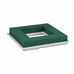 TABLE DECO QUADRO - Mousse florale carré L27 x H 4.5cm par 2