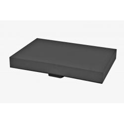 PLAQUE 40 x 60CM - Mousse Noire avec Support pour pied 40x60 cm