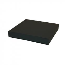 PLAQUE 50CM - Mousse Noire avec Support pour pied
