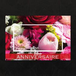 JOYEUX ANNIVERSAIRE - Carte Jeso Brillant Gold 10