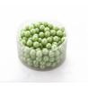 Perles 14mm Vert Pomme par 210