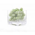 Vert Pomme - D14 mm Perles Par 300 g