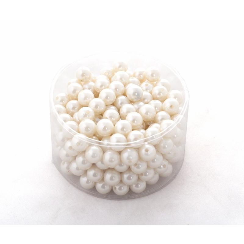 Perles 14mm Champagne par 210