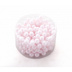 Perles 14mm Rose  par 210