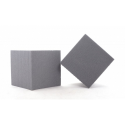 CUBE - Mousse Rainbow Anthracite 10 cm par 3