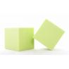 Cube Mousse 10cm Vert Anis x3