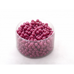 Rouge - D10 mm Perles Par 300g