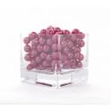 Rouge - D10 mm Perles Par 300g