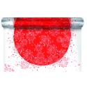 TRENDY - Bulle Carré 0,8 x 40 m Rouge