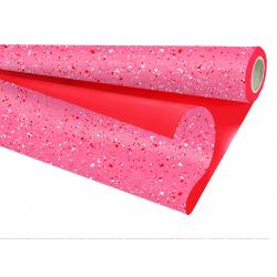 "Opaline Duo ""Spot"" Rouge Rouge 80cmx25m"