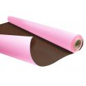 Kraft Duo Choco/Rose 0.80 x 40 m