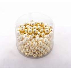Perles 14mm Or  par 300G