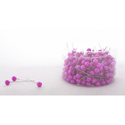 PIQUE - D10 x H60 mm Epingle Perle Fuchsia par 250