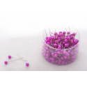 PIQUE - D10 x H60 mm Epingle Perle Fuchsia par 250