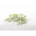PIQUE - D10 x H60 mm Epingle Perle Vert Pomme Par 250