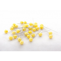 PIQUE - D10 x H60 mm Epingle Perle Jaune par 250
