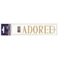Lettre Deuil ADOREE Pochette