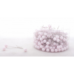 PIQUE - D10 x H60 mm Epingle Perle Rose par 250