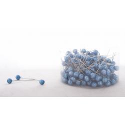 PIQUE - D10 x H60 mm Epingle Perle Turquoise par 250