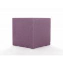 Cube Mousse 10cm Bordeaux x3