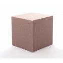 CUBE - Mousse Rainbow Chocolat 10 cm par 3
