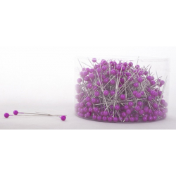 Fuchsia - D6 x H65 mm Epingle Perle Par 500