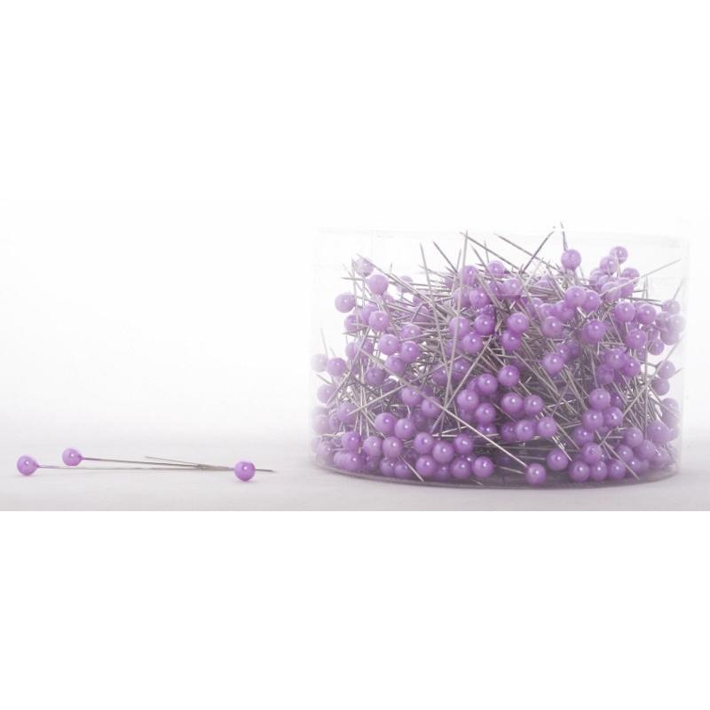 Epingle Perle 6mm Violet (x500)