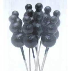 Epingles Chapeau 90 mm Noir