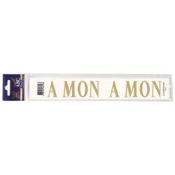Lettre Deuil A MON Pochette