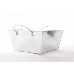 BRUT - Coupe Carrée Oreille zinc 15.5x15.5 h8,5 cm par 6