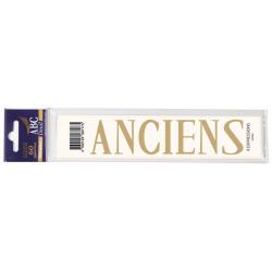 Lettre Deuil ANCIENS Pochette