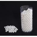 Boite 500 Perles D10mm Ecru