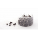 PIQUE - D10 x H60mm Epingles Perle Marron par 250