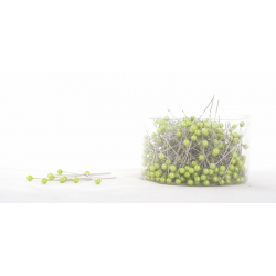 Epingle Perle 6mm Vert Pomme (x500)