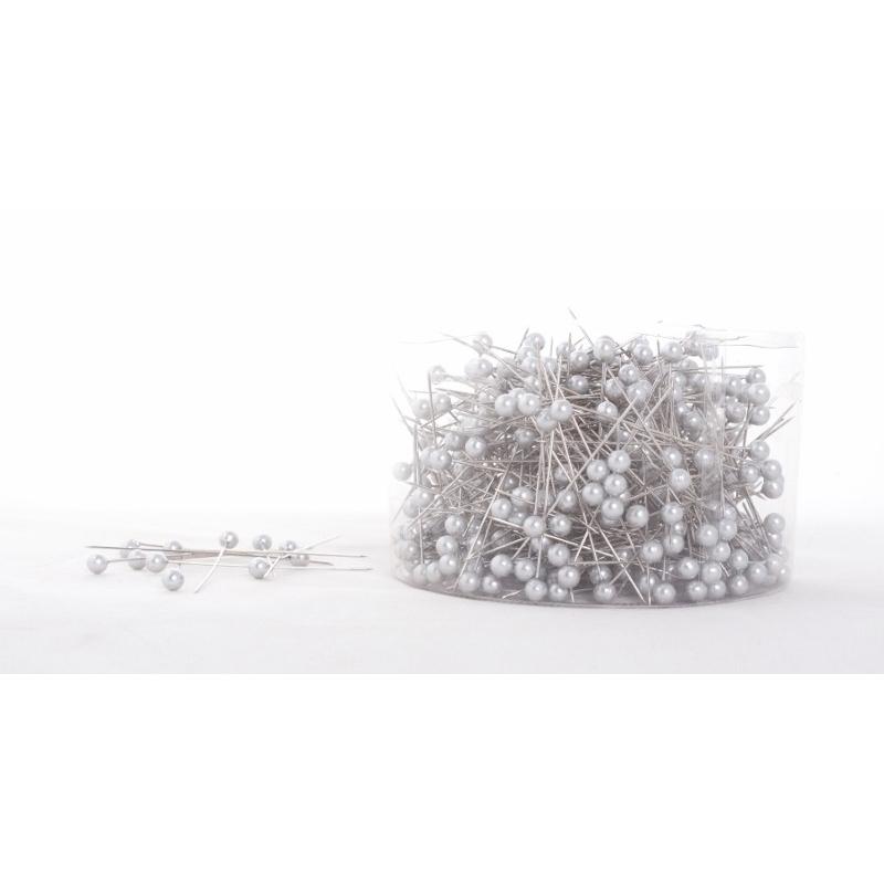 Argent - D6 x H65 mm Epingle Perle Par 500