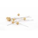 Epingle Perle 6mm Or (x500)