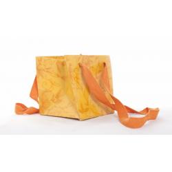 FLORALIES - Sac 12x12x13 cm Floralies Orange par 25