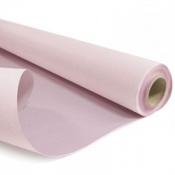DUO - Rouleau Kraft Rose Mat / Rose Poudre 0.80 x 40 m - 60gr / m²