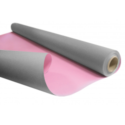 Kraft Duo Gris/ Rose 0.80 x 40 m