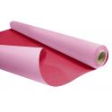 DUO - Rouleau Kraft Rose / Fuchsia 0.80 x 40 m - 60gr / m²