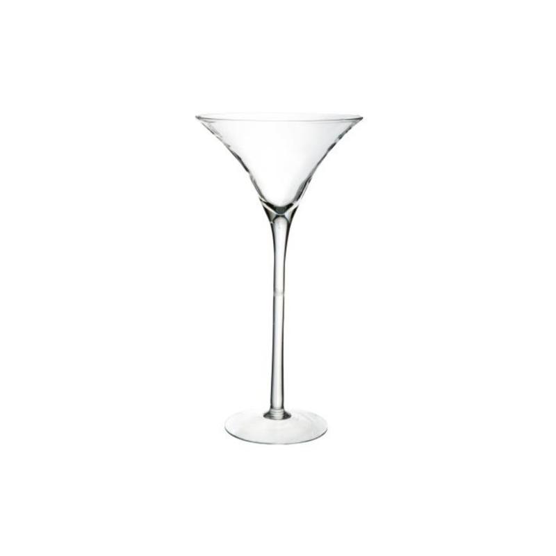 MARTINI 70 - Vase Martini en Verre hauteur 70 cm