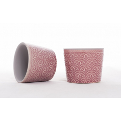 DUKE - Cache-Pot Rose D7,5 x H6 cm