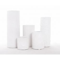 Pot+Vase céramique D8 INGO Blanc Set de 5