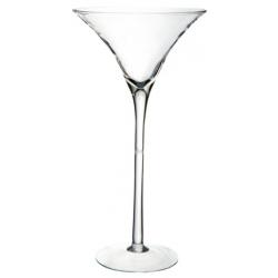 MARTINI 40 - Vase Martini en Verre hauteur 40 cm