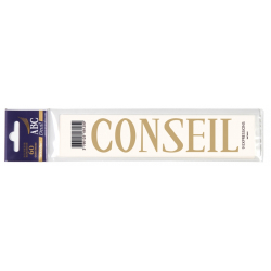 CONSEIL - Expression Deuil