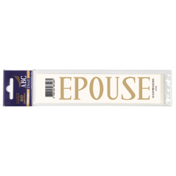 EPOUSE - Expression Deuil