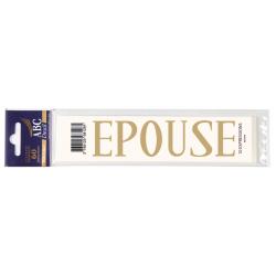 Lettre Deuil EPOUSE Pochette
