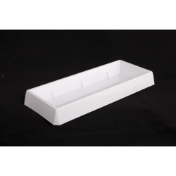 Centre de table Rectangle Blanc x3