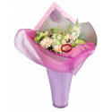 ZEPHIR - Fibre Rose Pâle L0.55 x L9.1 m