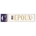 Lettre Deuil EPOUX Pochette